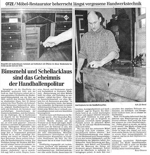 ber mich antik studio burgdorf hannover antiquit ten restaurierung m bel. Black Bedroom Furniture Sets. Home Design Ideas